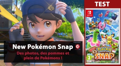 Test vidéo [VIDEO TEST] New Pokémon Snap sur Switch - Des photos, des pommes et plein de Pokémons !